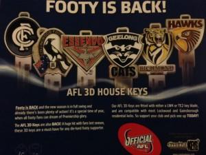 AFL Keys