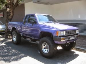 Toyota Hilux Locksmith Ute
